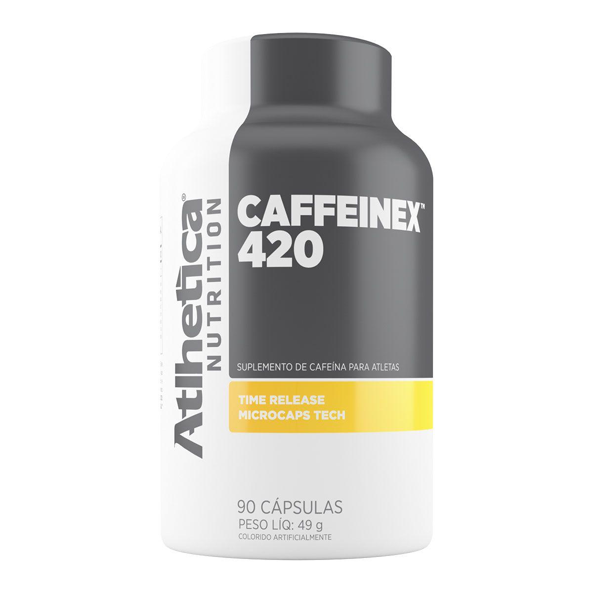 Caffeinex 420mg 90 Cápsulas - Atlhetica Nutrition
