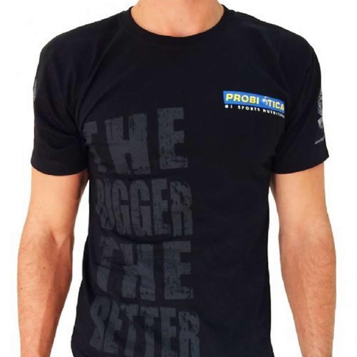 Camiseta Algodão The Bigger The Batter - Probiótica