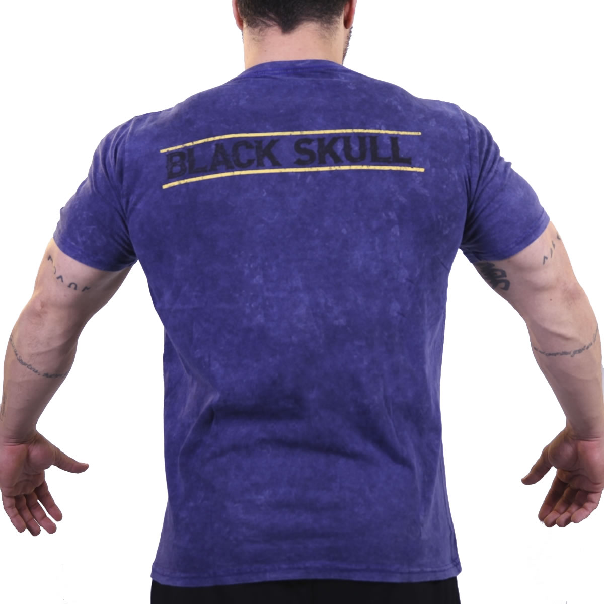 Camiseta Bones Army Azul - Black Skull Clothing