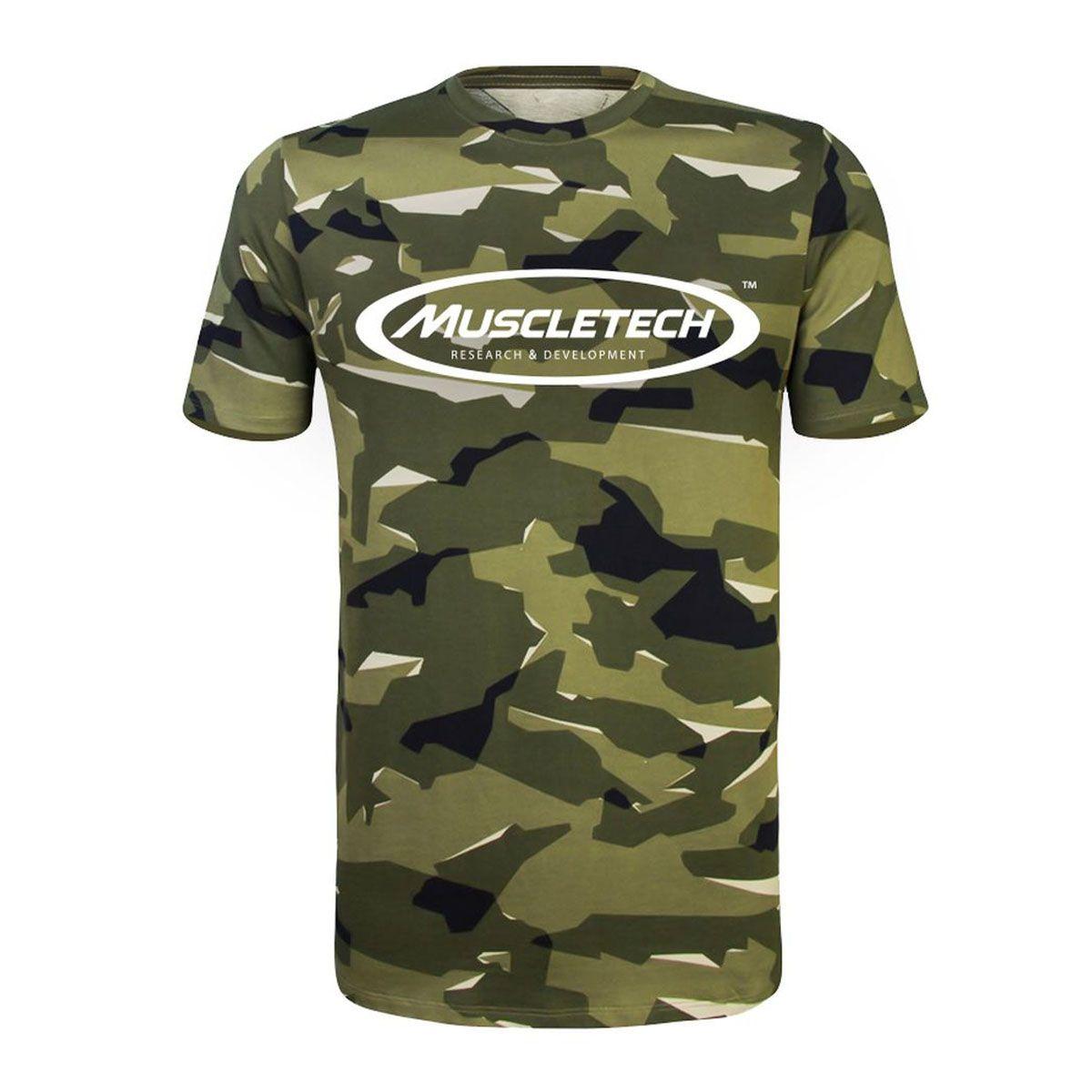 Camiseta Camuflada - Muscletech