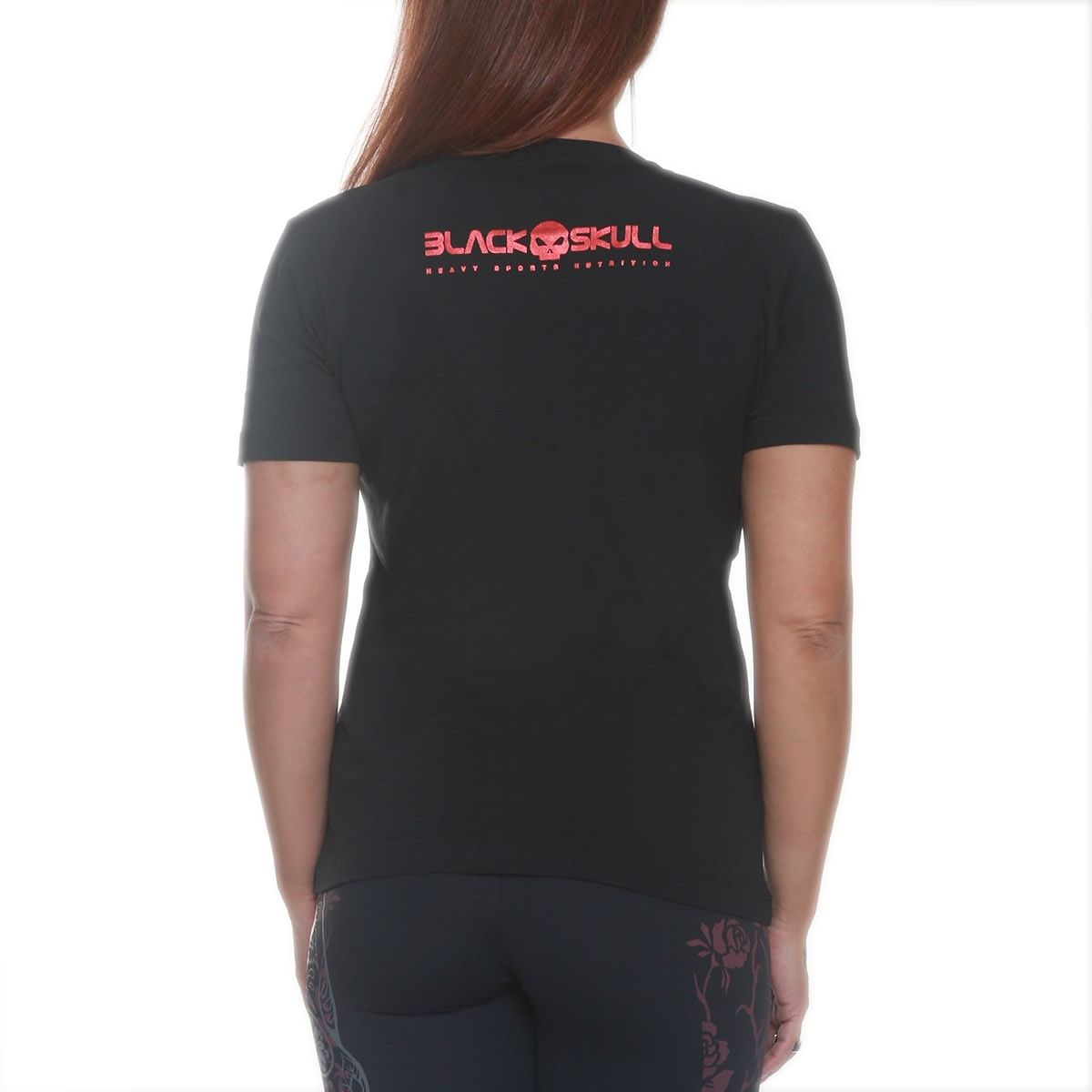 Camiseta Carol Saraiva Preto - Black Skull