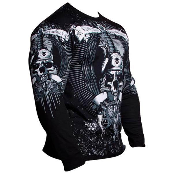 Camiseta faca na caveira com cobra - Black Skull