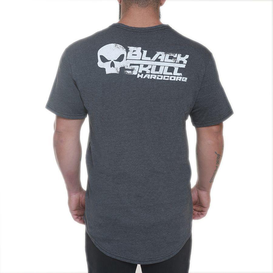 Camiseta Motor Preto - Black Skull