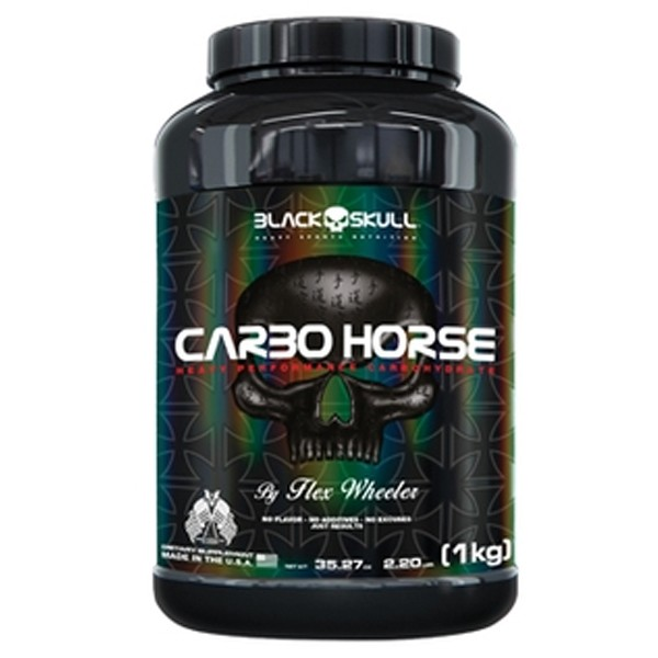 Carbo Horse 1 kg - Black Skull