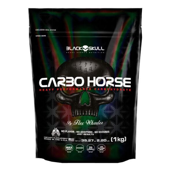 Carbo Horse 1kg(Refil) - Black Skull
