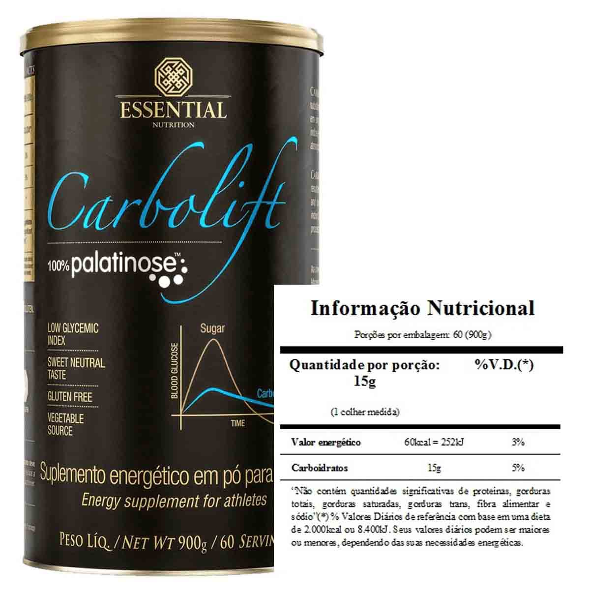 Carbolift 900g - Essential Nutrition