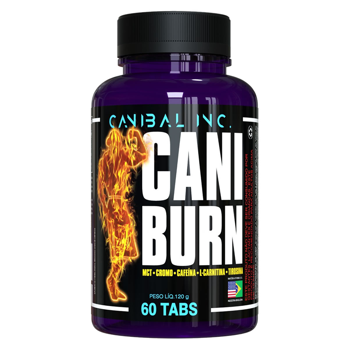 CARNIBURN 60 Cápsulas - CANIBAL INC