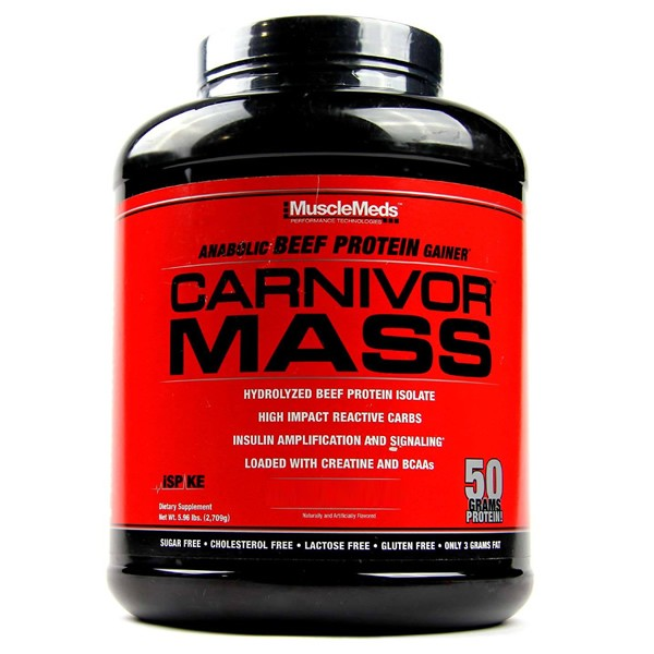 Carnivor Mass 2,7 Kg - Musclemeds