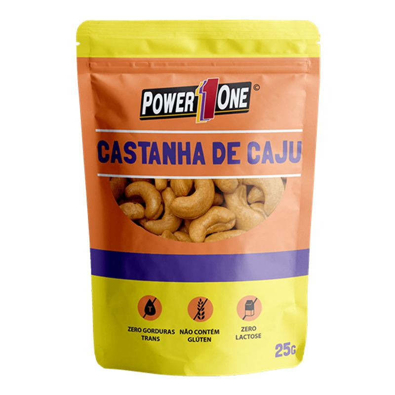 Castanha de Caju - 1 Sachê (25g) - Power One