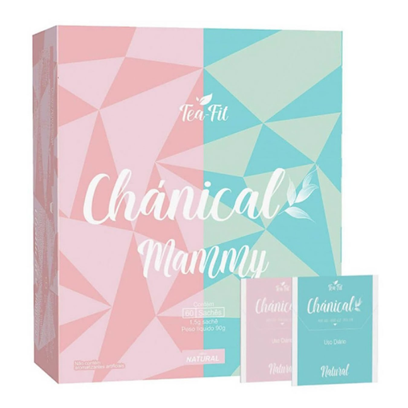 Chá Mammy 60 Sachês Chánical - Tea Fit