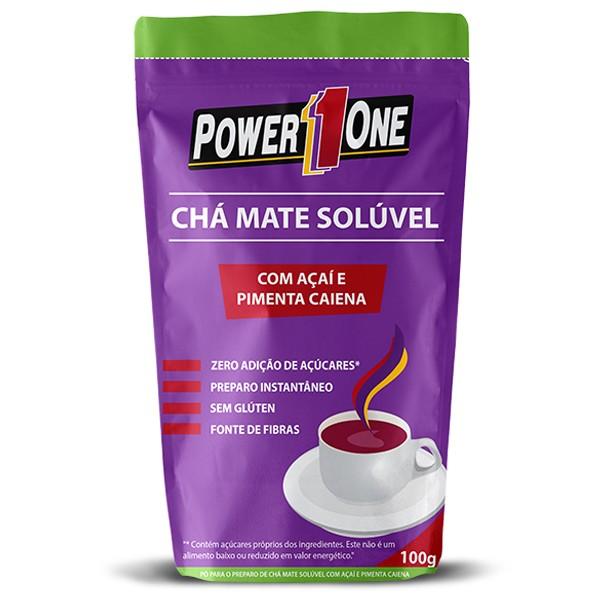 Chá Mate Solúvel 100 g - Power One