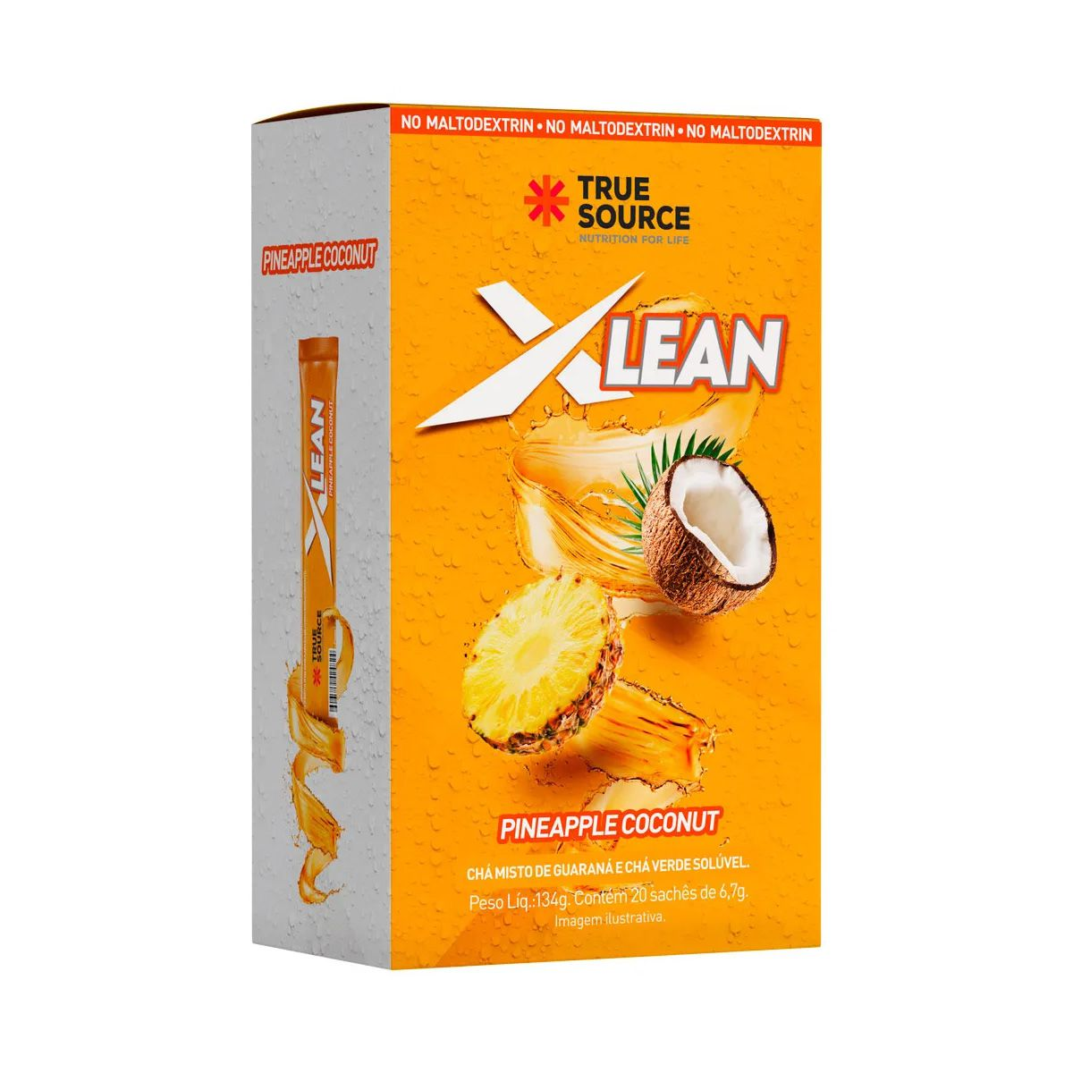 Chá Xlean - 20 Sachês - True Source