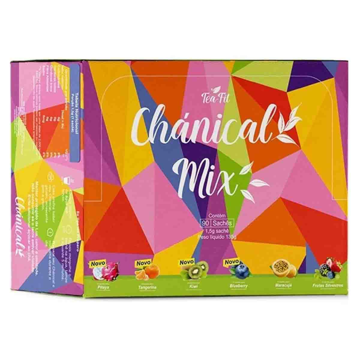 Chánical Mix 90 sachês - Tea-Fit