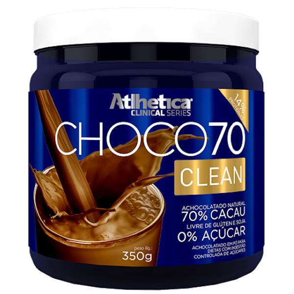 Choco 70 Clean 350 g - Atlhetica