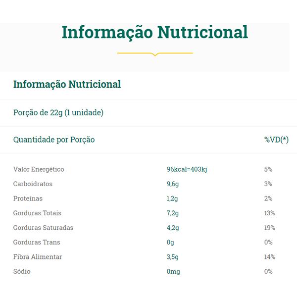 Chocolate Meio Amargo 24 Unidades - Vitao