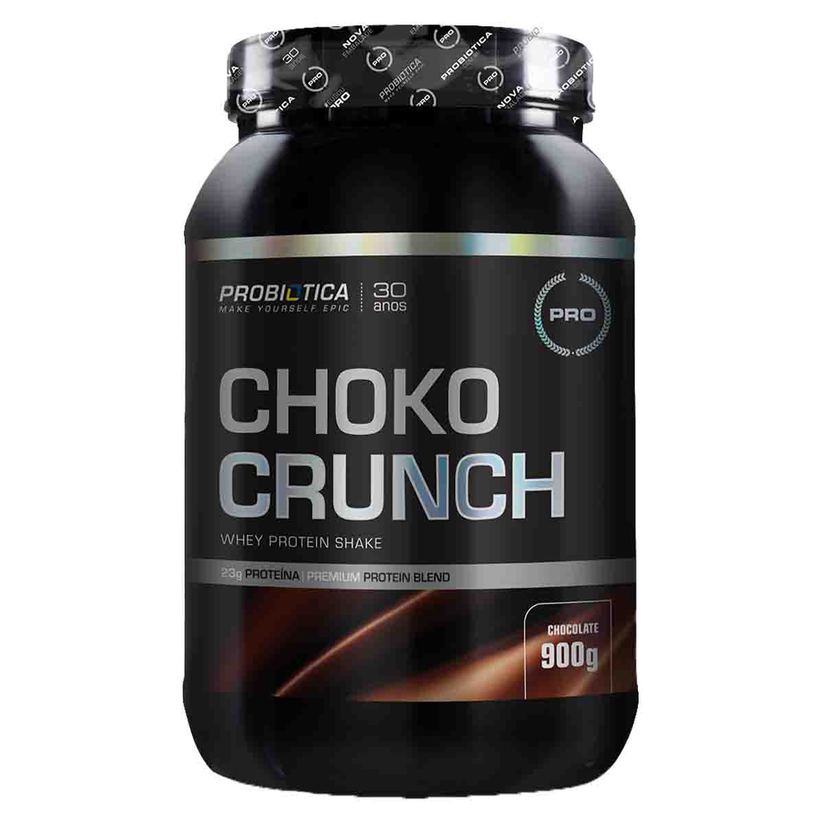 Choko Crunch Whey Protein Shake 900g - Probiótica