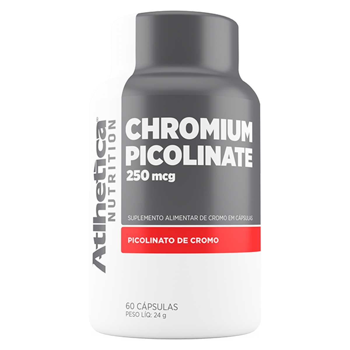 Chromium Picolinate 60 cápsulas - Atlhetica Nutrition