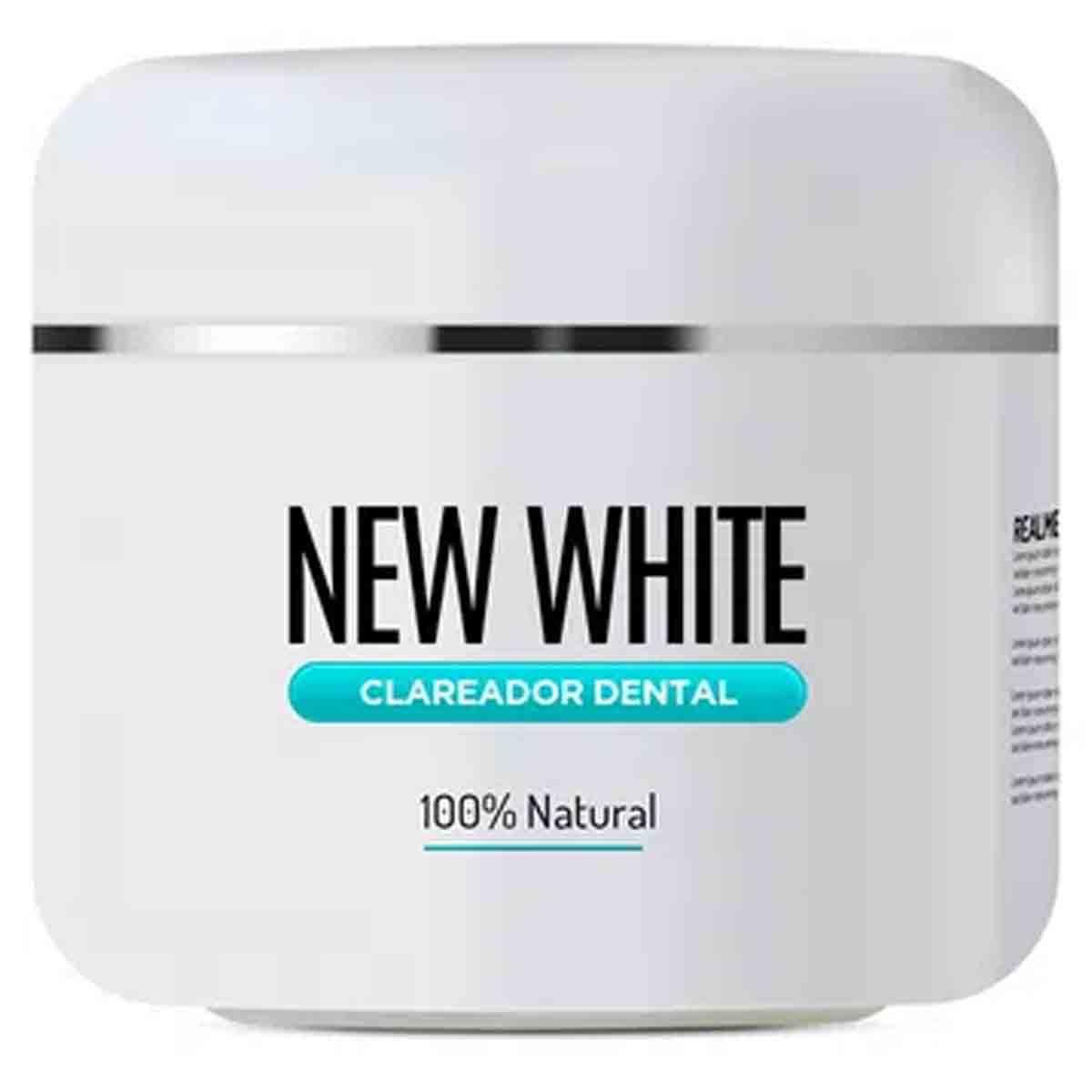 Clareador Dental New White 100% Natural 11g - Vitabe