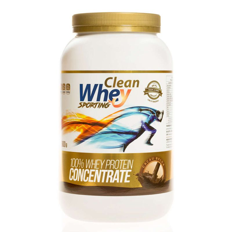 Clean Whey Concentrate Sporting 900g - Clean Whey