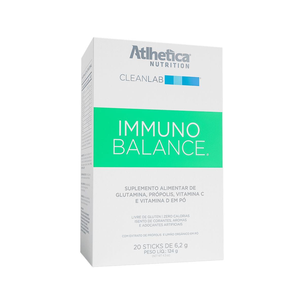 Cleanlab Immuno Balance - 20 Sticks de 6,2g - Atlhetica Nutrition
