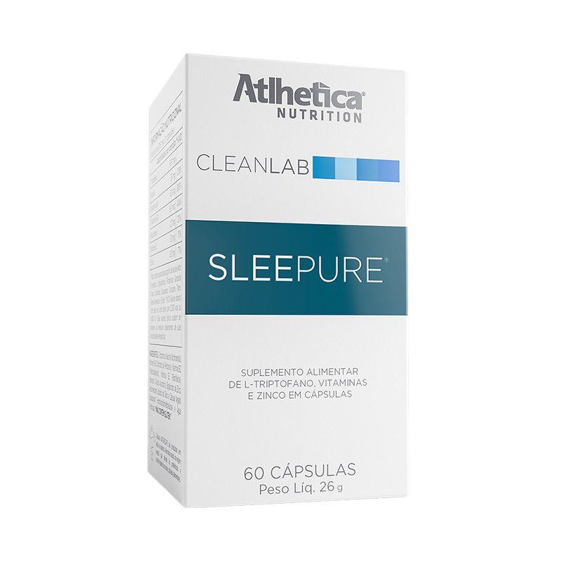 Cleanlab Sleepure 60 Cápsulas - Atlhetica Nutrition