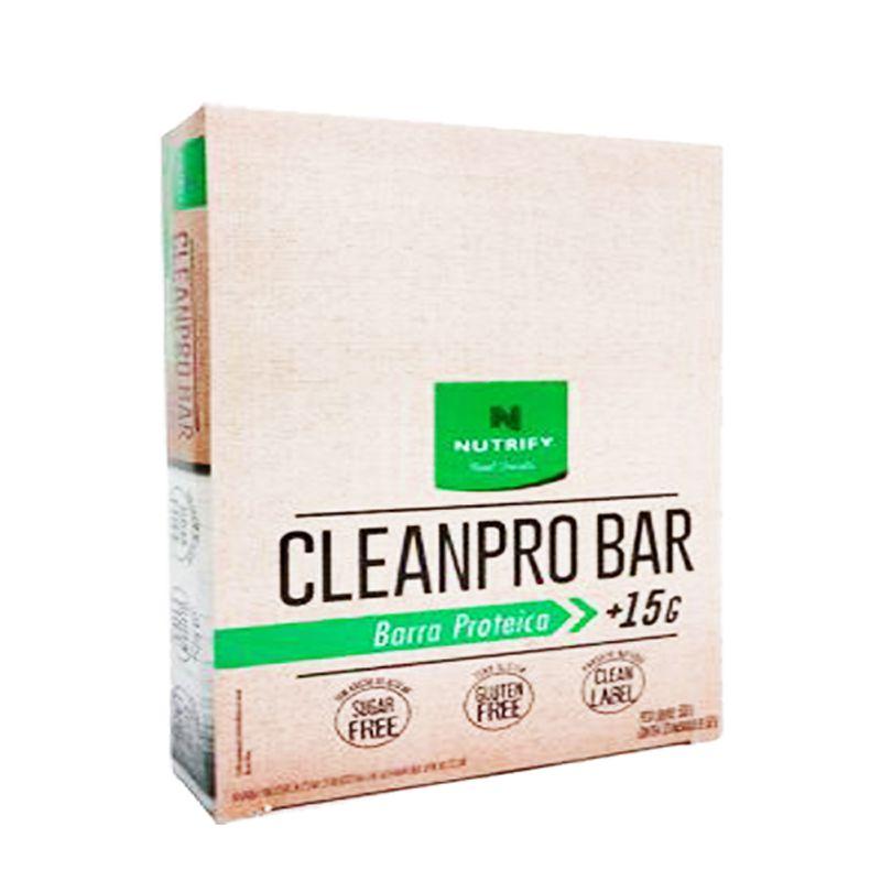 Cleanpro Protein Bar - 10 Unidades de 50g - Nutrify