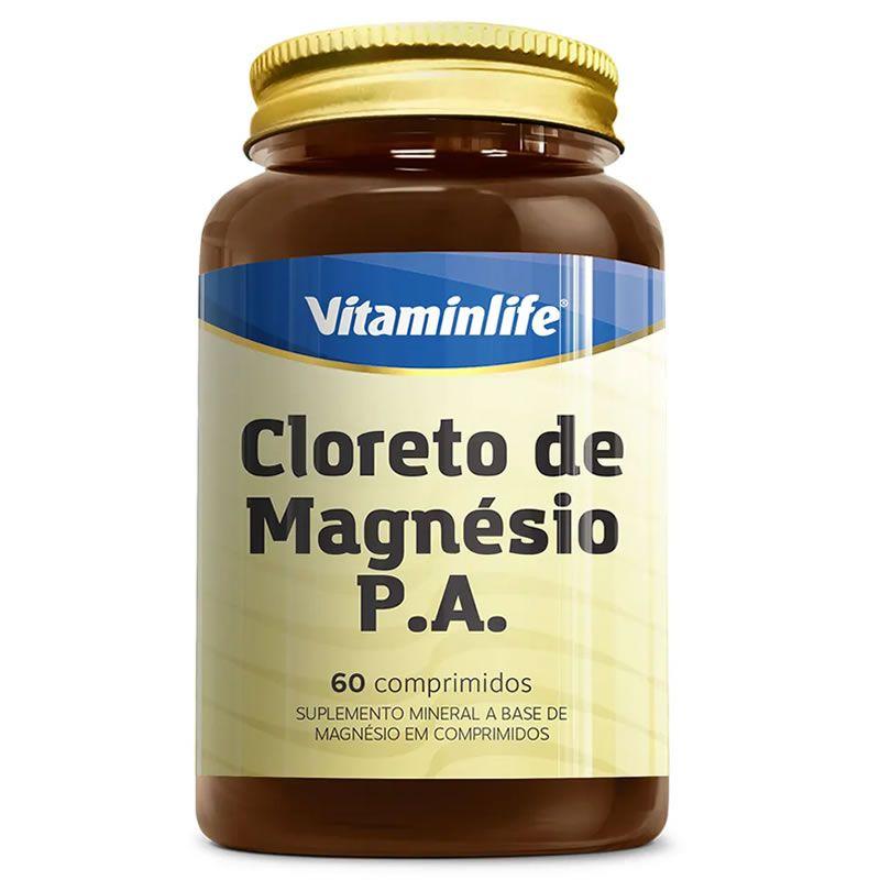 Cloreto de Magnésio P.A 60 cápsulas - Vitamin Life