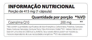 Co Q10 200 mg 60 Cápsulas - Atlhetica