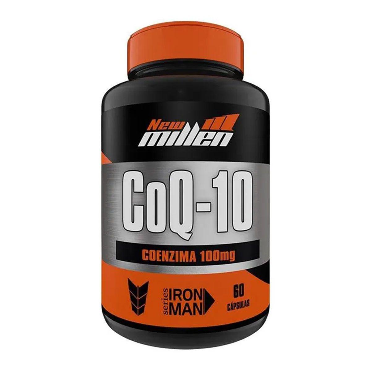Coenzima Q-10 60 cápsulas - New Millen