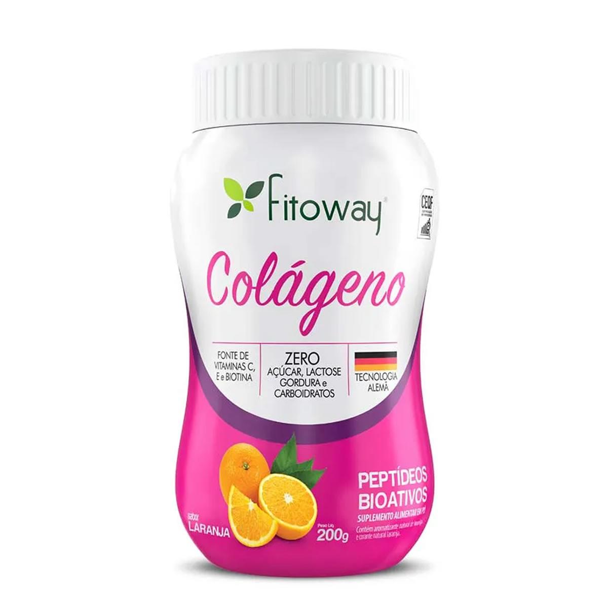 Colágeno 200g - Fitoway