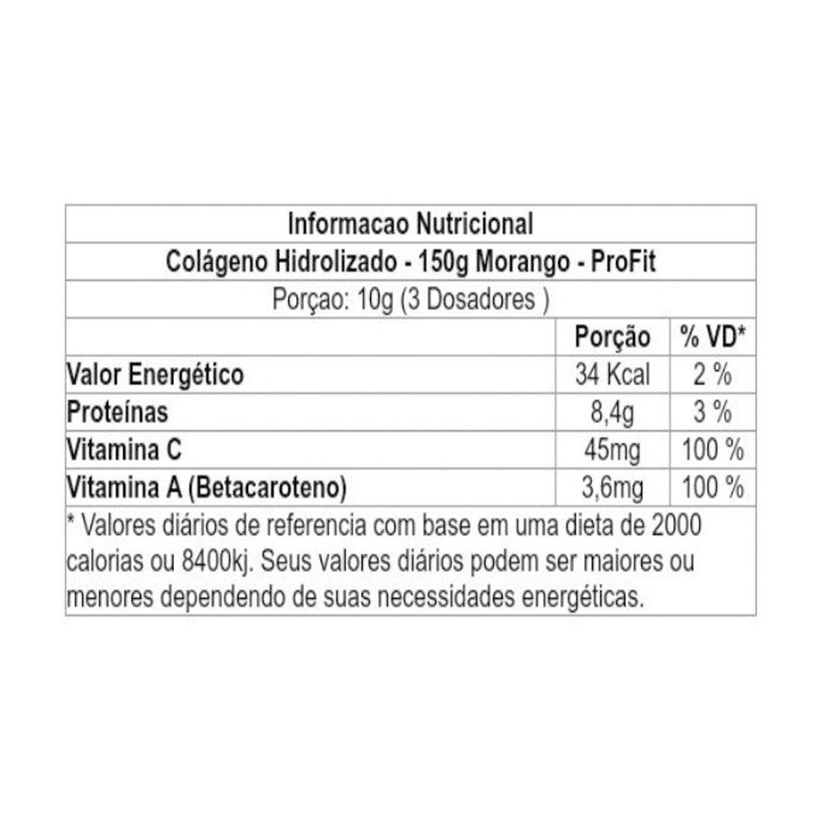 Colageno Hidrolisado 150g - Profit