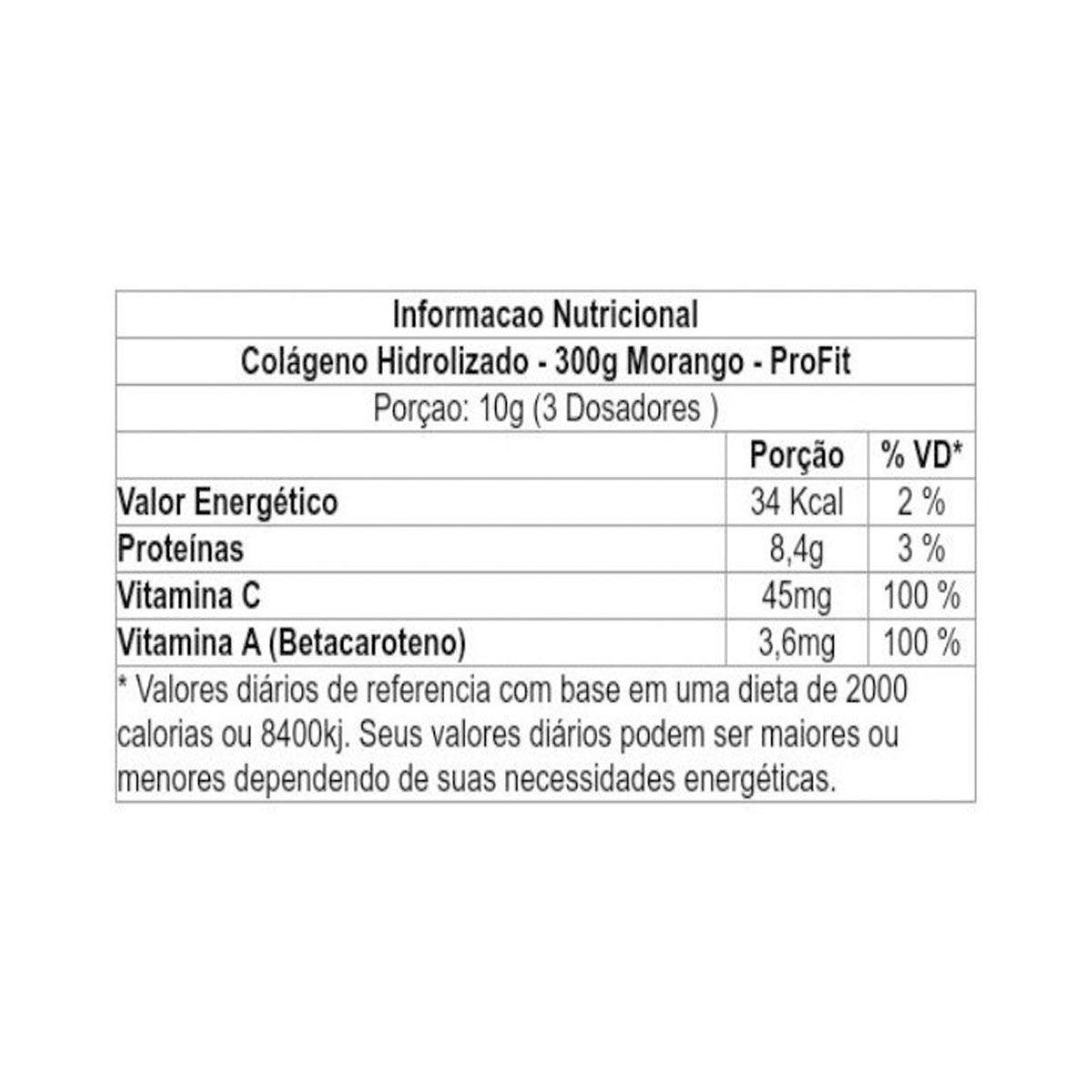 Colageno Hidrolizado 300g - Profit