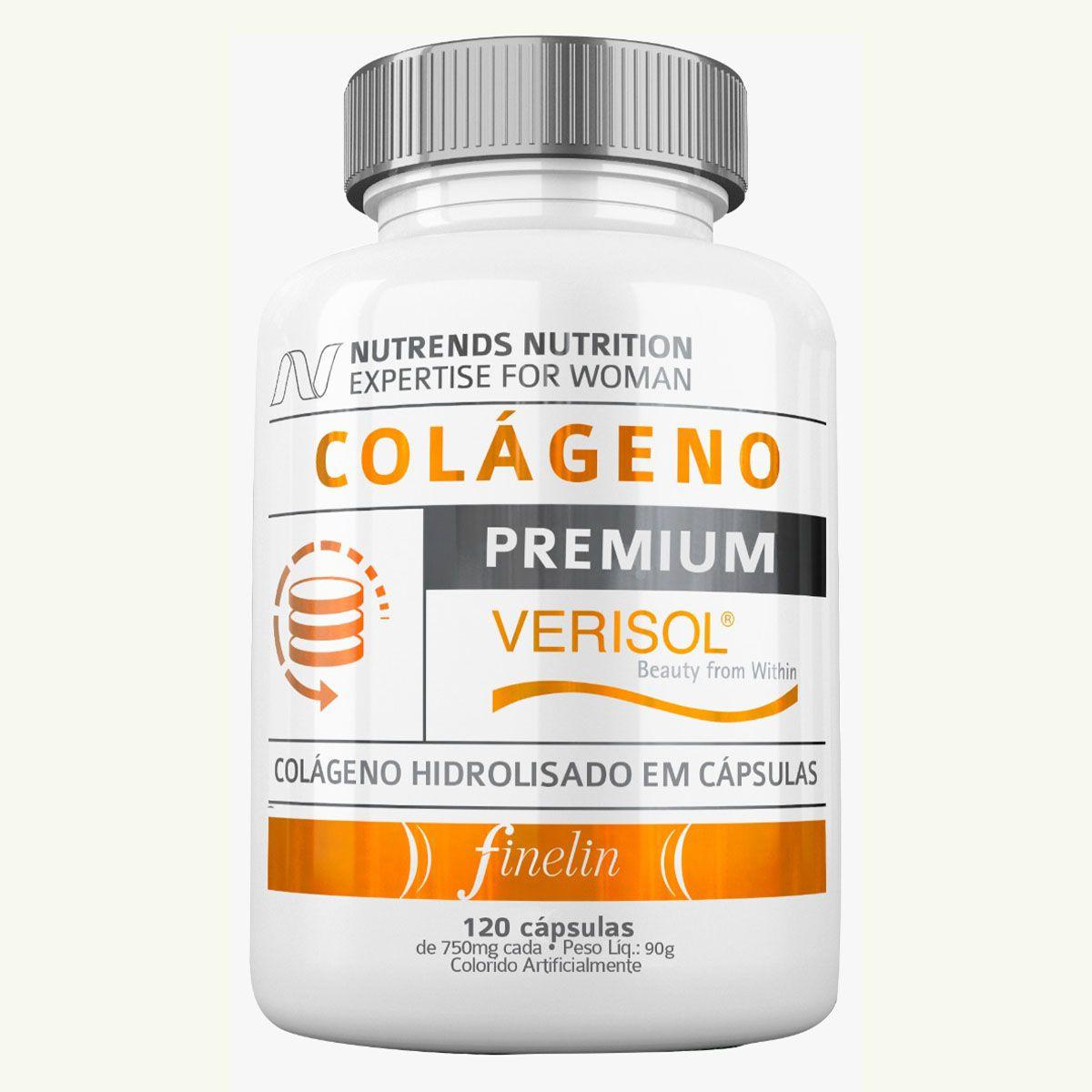 Colageno Verisol Premium 120 cápsulas - Nutrends