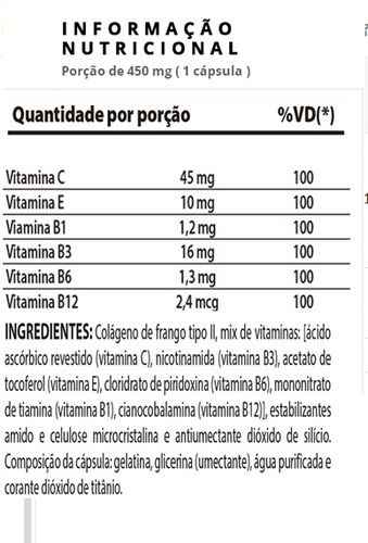Collagen 2 60 cápsulas - Nutrify