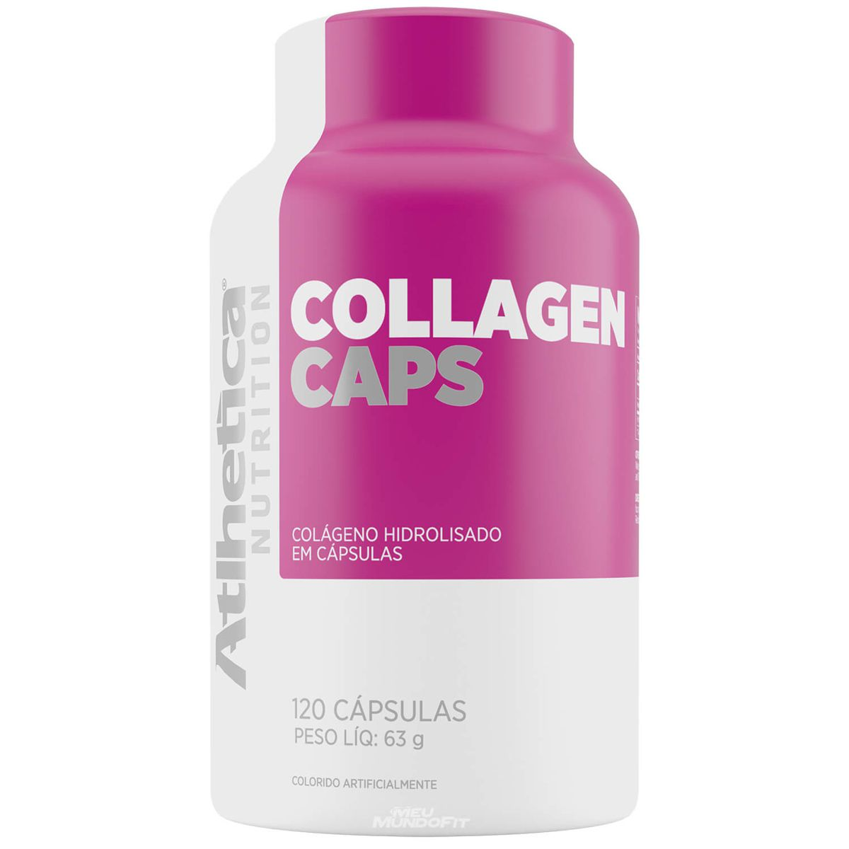 Collagen Caps - 120 Cápsulas - Atlhetica
