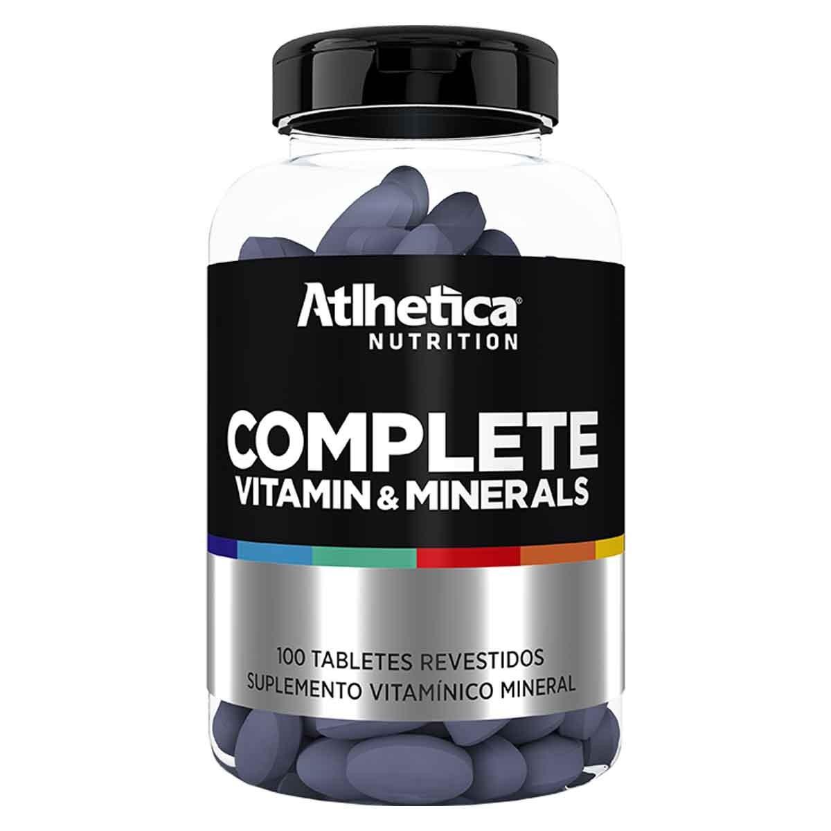 Complete Multi-Vit 100 cápsulas - Atlhetica Nutrition