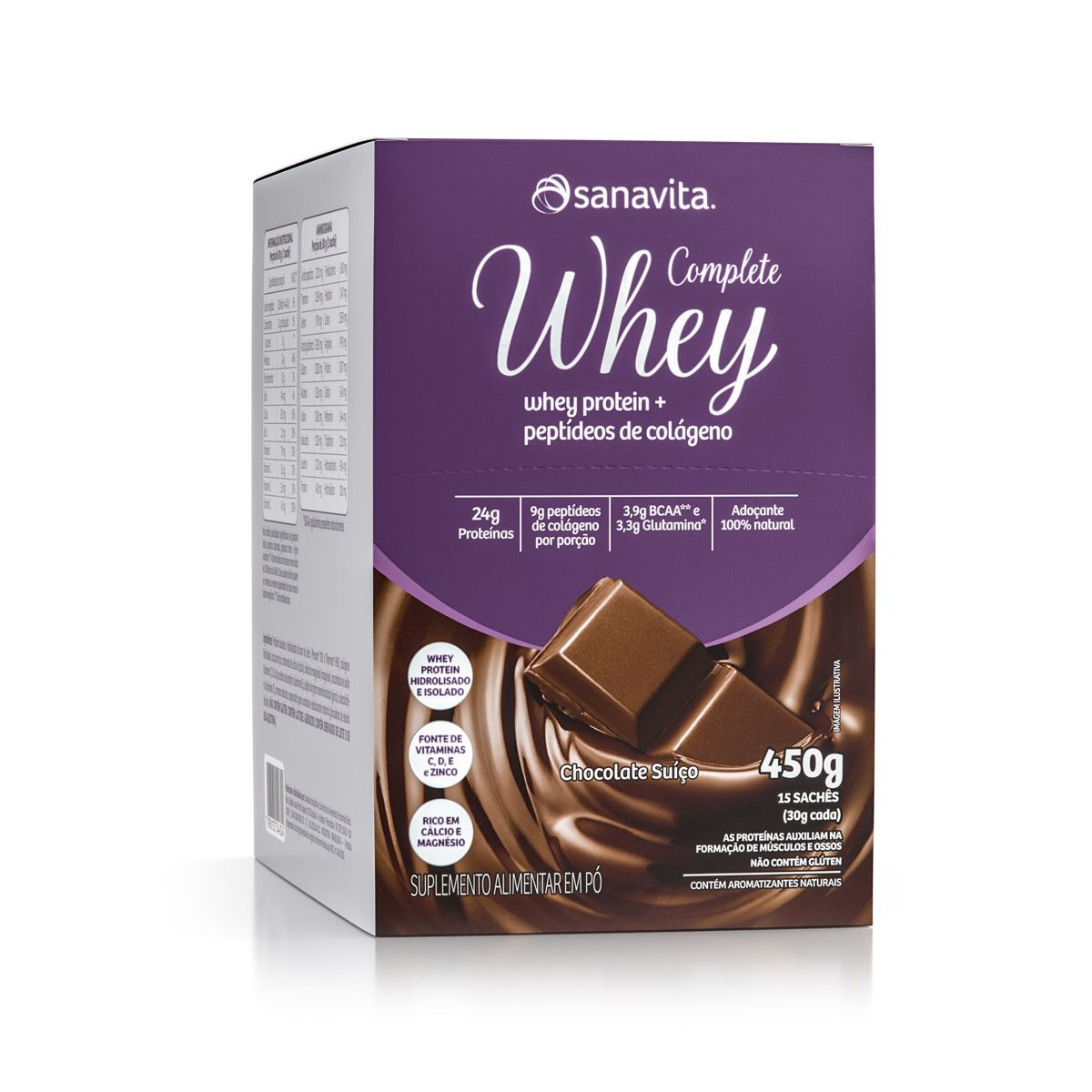 Complete Whey - 15 Sachês - Sanavita