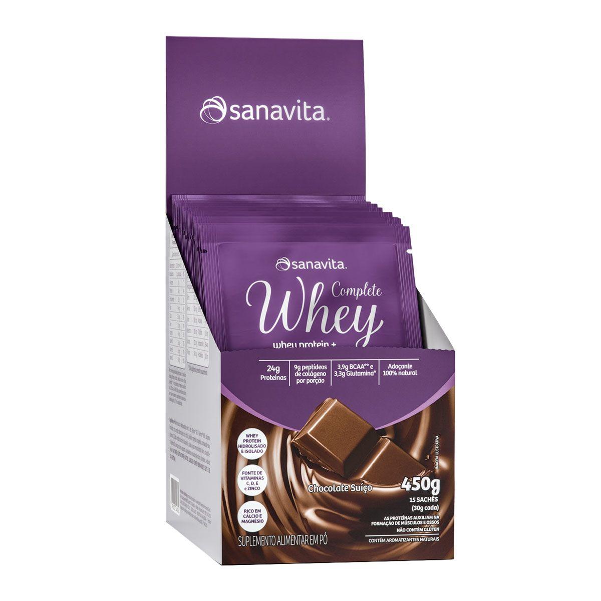 Complete Whey 15 Sachês - Sanavita