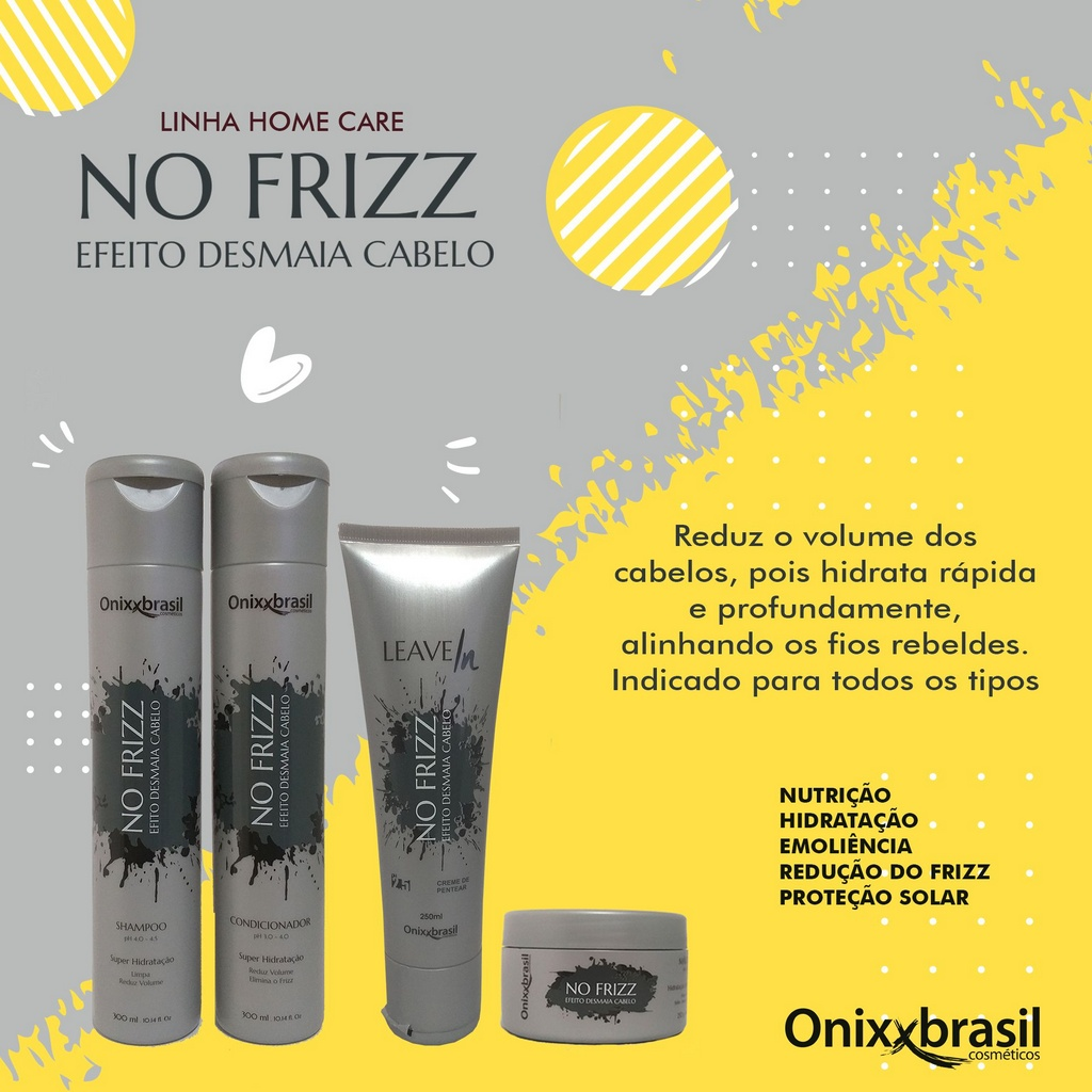 Condicionador No Frizz 300ml - Onixxbrasil
