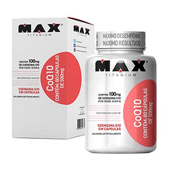 CoQ 10 60 Cápsulas - Max Titanium