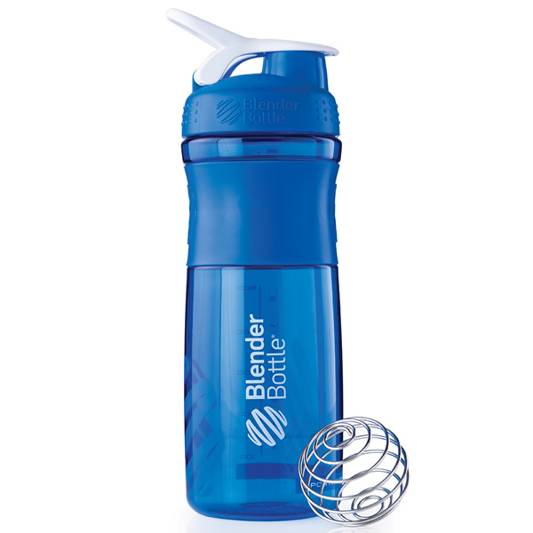 Coqueteleira Blender Bottle Sport Mixer 830ml - Azul Marinho