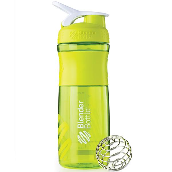 Coqueteleira Blender Bottle Sport Mixer 830ml - Verde Água
