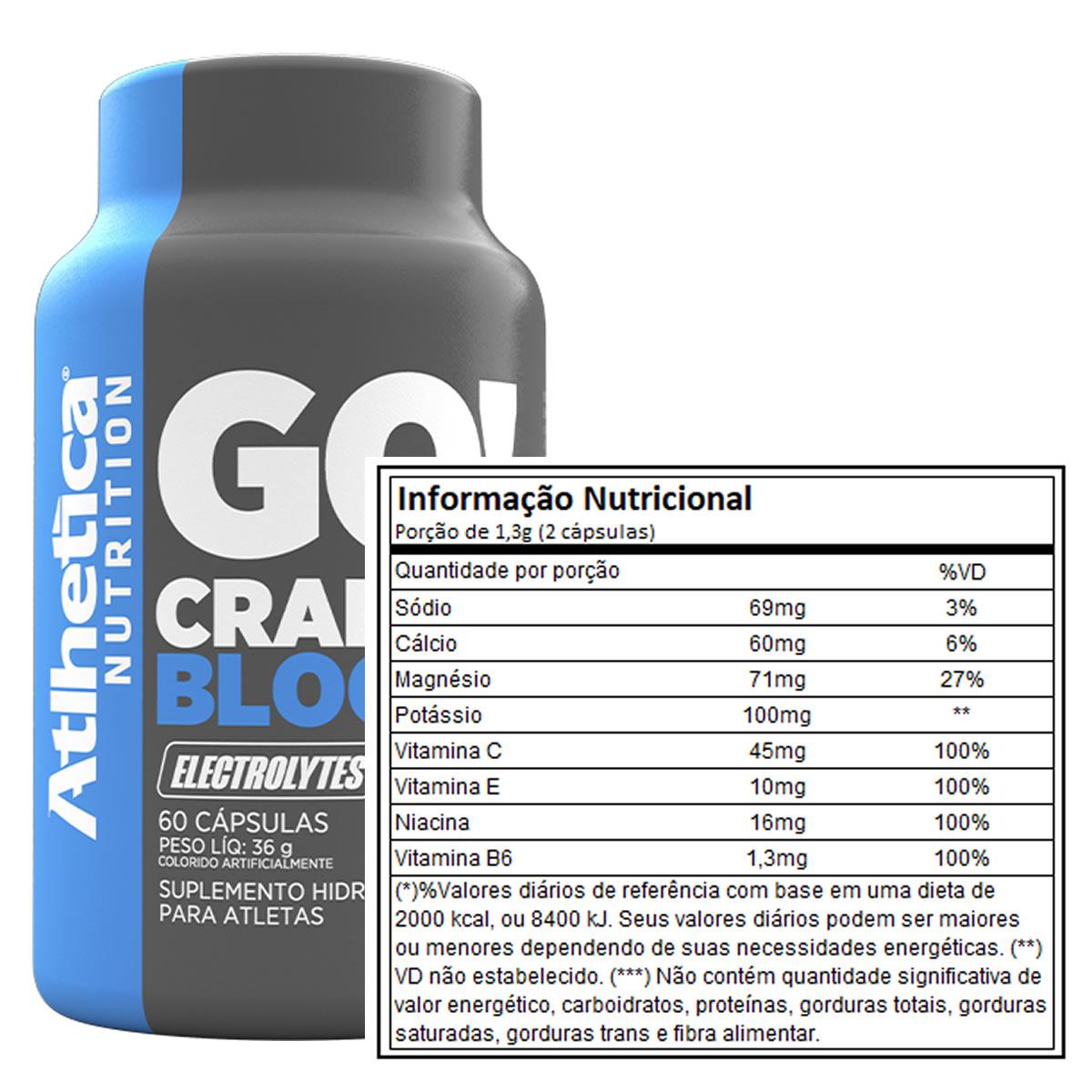 Cramp Block 60 cápsulas - Atlhetica Nutrition