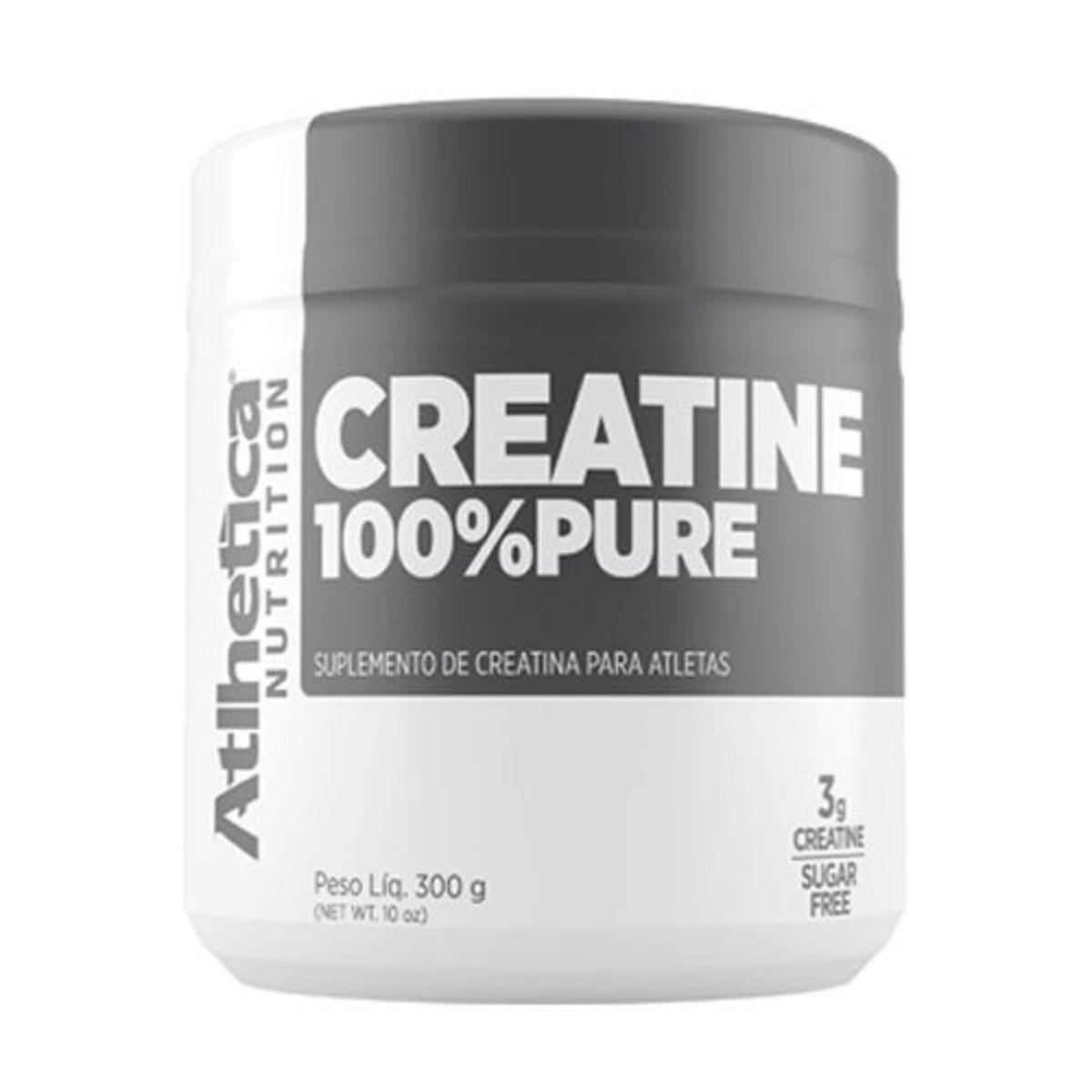 Creatina 100% Pure 300g - Atlhetica Nutrition