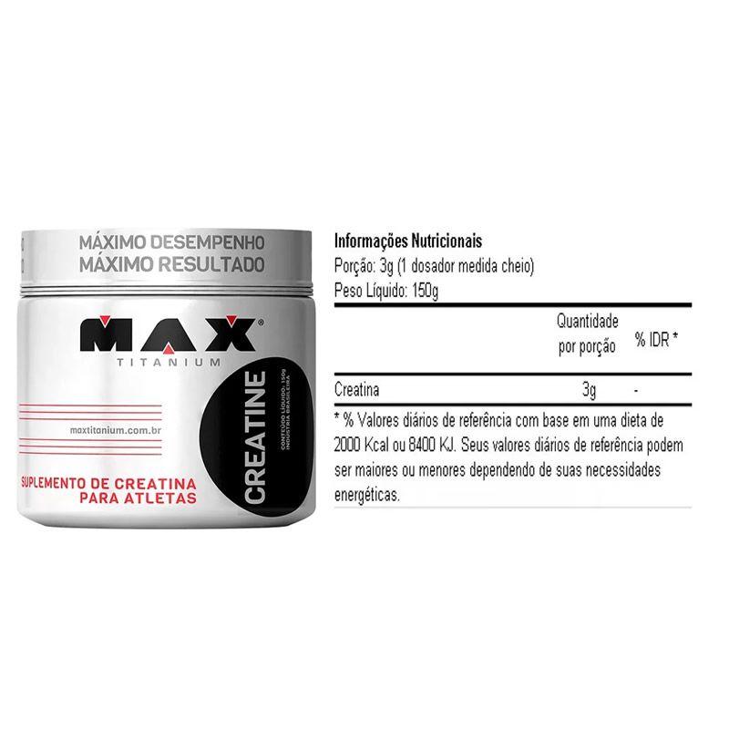 Creatina - 150 g - Max Titanium