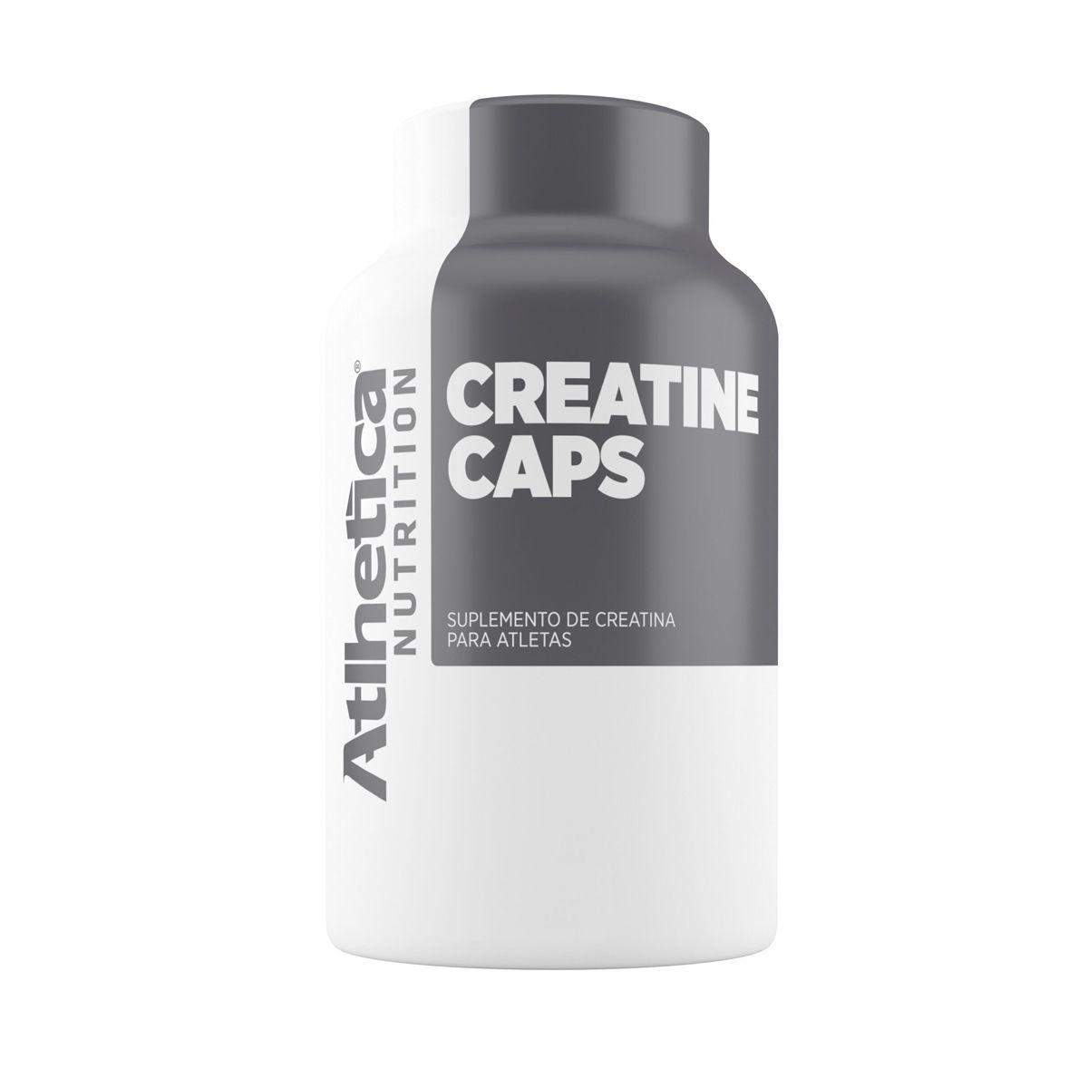 Creatina Caps - 200 cápsulas - Atlhetica