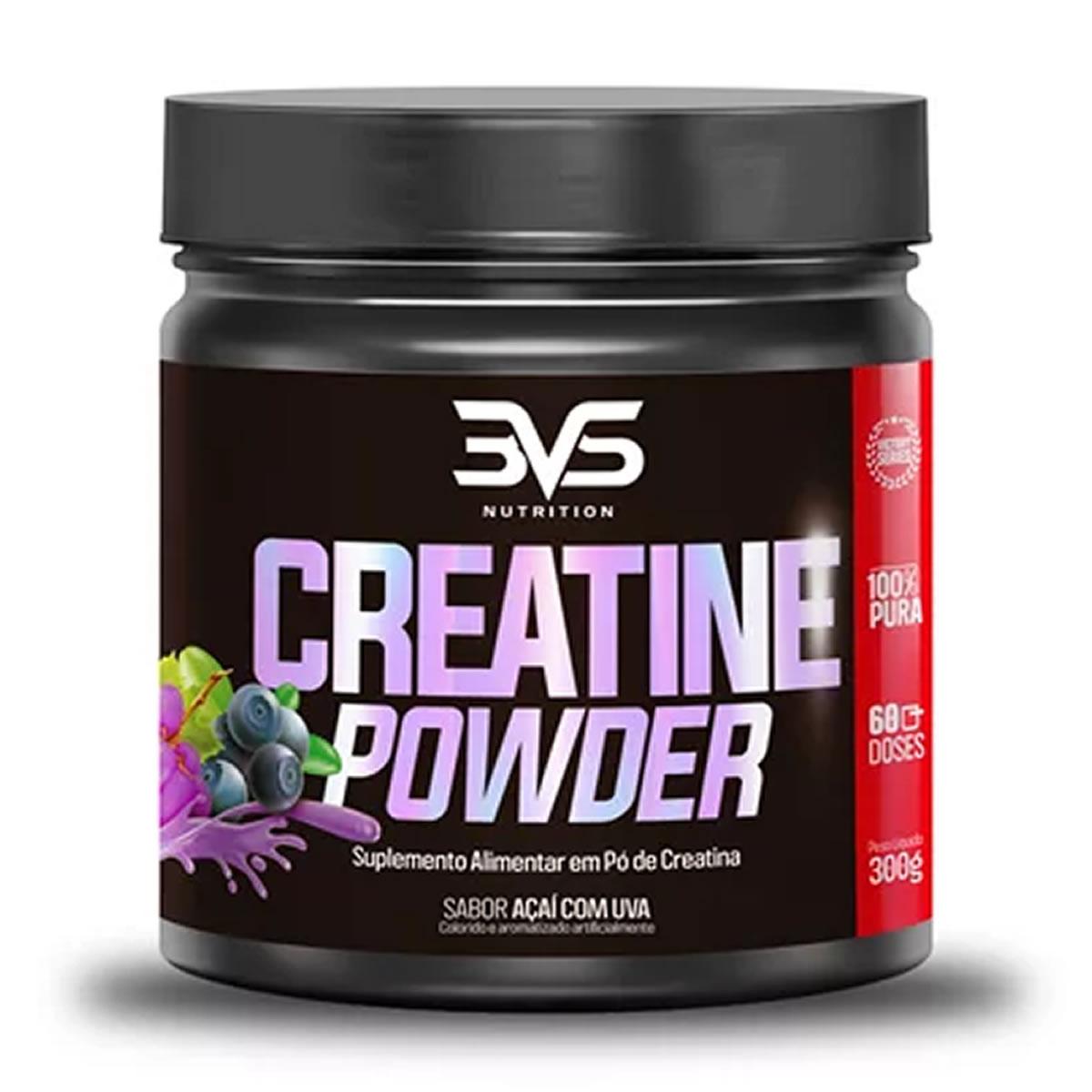Creatina Monohidratada 300g - 3VS Nutrition