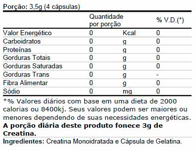 Creatina Superior Pure 120 cápsulas - Integral Médica