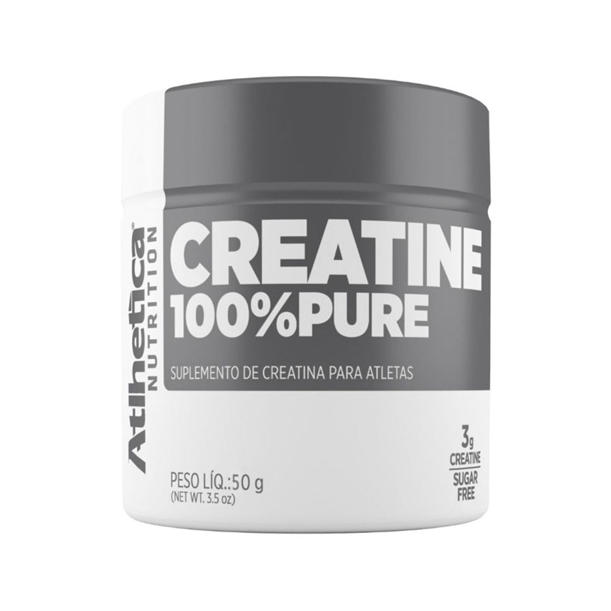 Creatine 100% Pure - 50g - Atlhetica Nutrition