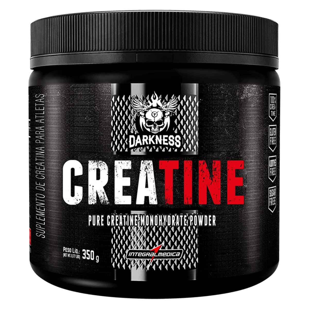 Creatine Creapure Darkness 350g - Integral Médica